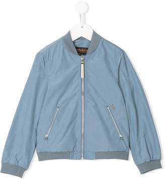 Woolrich Kids classic bomber jacket