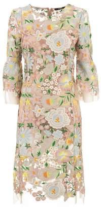 Seventy Embroidered Floral Dress