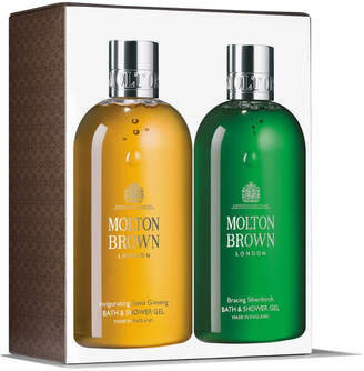 Invigorating Suma Ginseng & Bracing Silverbirch Bath and Shower Gel Duo 2 x 300ml