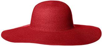 Orchid Row's Classic & Vibrant Floppy Straw Sunhat
