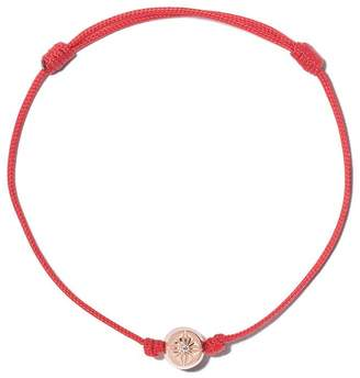 Shamballa Jewels 18kt rose gold & white diamond Orb charm bracelet