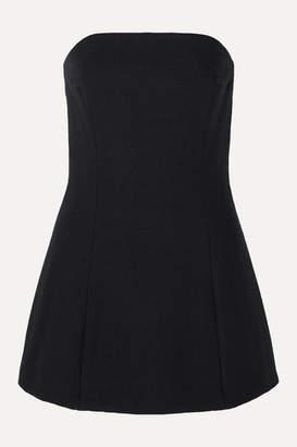Georgia Alice Sands Strapless Woven Mini Dress - Black