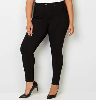 Avenue 5 Pocket Stretch Jean in Black