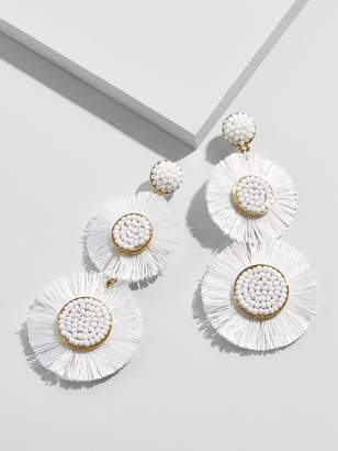 BaubleBar Mariette Fringe Drop Earrings