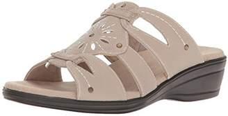 Easy Street Shoes Women's Raelyn Wedge Slide Sandal