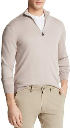 Bloomingdale's The Men's Store at Quarter-Zip Sweater - 100% Exclusive