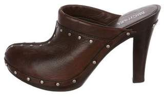 MICHAEL Michael Kors Studded Leather Clogs