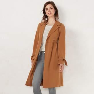 Lauren Conrad Women's Pretty Trench Coat
