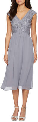 Oceanaut Melrose Sleeveless Embellished Fit & Flare Dress