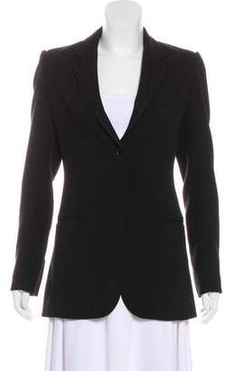 Georgie Structured Notch-Lapel Blazer