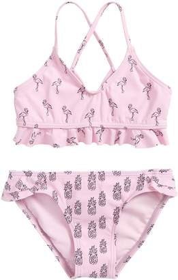 O'Neill Flamingle Ruffle Two-Piece Swimsuit
