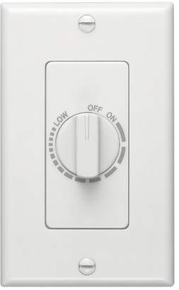 Broan Control with Automatic Timer in White