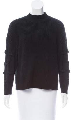 Steven Alan Mock Neck Long Sleeve Sweater