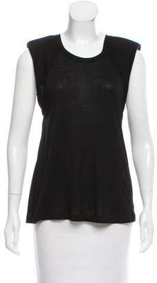 Alexis Sleeveless Structured Top