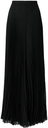 Max Mara high pleated maxi skirt