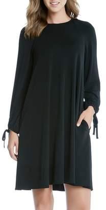 Karen Kane Tie Sleeve Swing Dress