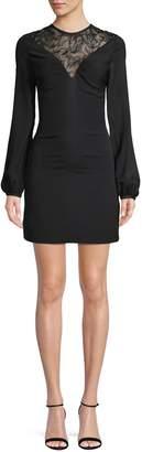 Roberto Cavalli Lace Sheath Dress