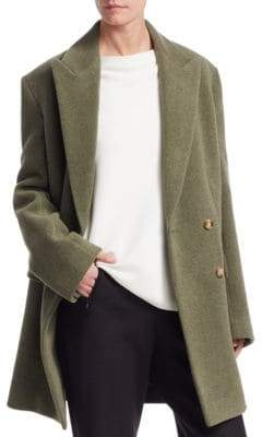 The Row Mewey Wool-Blend Blazer Coat