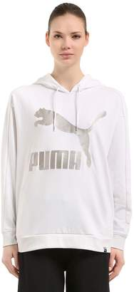 Puma Select Classic Logo Hooded Cotton Sweatshirt