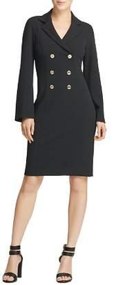 Donna Karan Double-Breasted Shirt Dress
