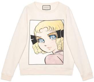 Gucci Cotton sweatshirt with manga print