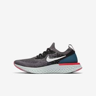 Nike Epic React Flyknit Big Kids' Running Shoe