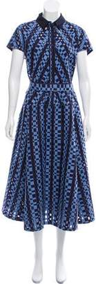 Lela Rose Textured Maxi Dress w/ Tags