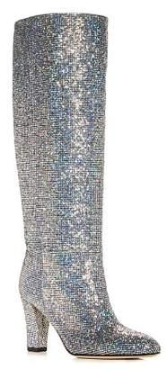 Sarah Jessica Parker Women's Studio Glitter High-Heel Boots