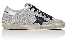 Golden Goose Women's Superstar Glitter Sneakers-Silver