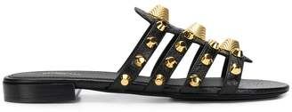 Balenciaga Giant gold sandals