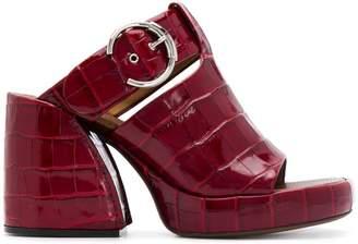 Chloé open toe platform sandals