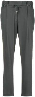 Eleventy cropped tapered trousers