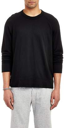 James Perse Men's Raglan Sleeve Long Sleeve Pullover