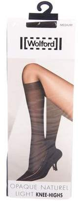 Wolford Opaque Naturel Light Knee Socks w/ Tags