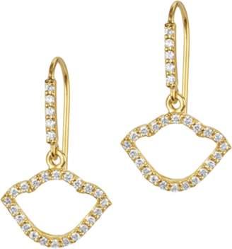 Amrapali Legend Nalika Lotus Silhouette Earrings