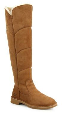 UGG Sibley Tall Quilted Boots $300 thestylecure.com