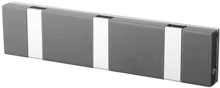 LoCa - Knax Lite 3er Garderobe, Grau / Grau