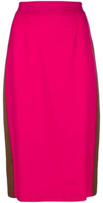 P.A.R.O.S.H. fitted pencil skirt