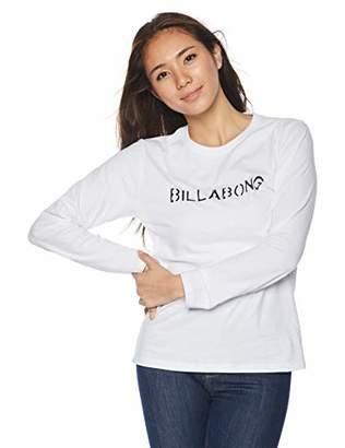 Billabong (ビラボン) - [ビラボン] [レディース] 長袖 プリント Tシャツ (ベーシック)[ AI014-054 / LS PRINT TEE ] ロンT かわいい BLK_ブラック US M (日本サイズM相当)