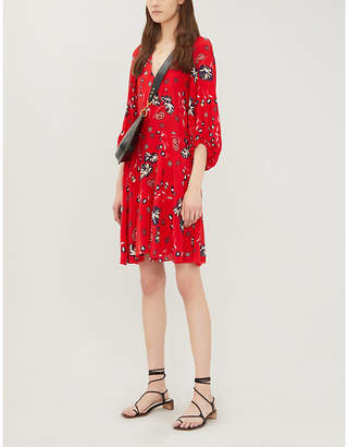 Zadig & Voltaire ZADIG&VOLTAIRE Remi floral-print silk mini dress