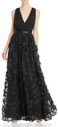 16dbe9c60df1 Laundry by Shelli Segal Floral-Appliqué Gown - 100% Exclusive