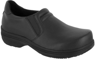 Easy Street Shoes Easy Works by Twin Gore Slip-On Work Shoes - Bind