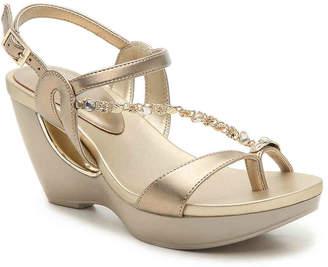 Andrew Geller Alya Wedge Sandal - Women's