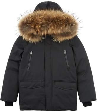 Mackage Jo Raccoon Trim Coat