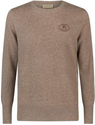 Burberry Equestrian Knight Cashmere Sweater
