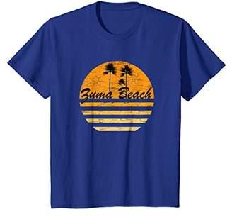 Zuma Beach Vintage Retro T-Shirt 70s Throwback Surf Tee