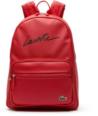 Lacoste Men's L.12.12 Concept Lettering Petit Pique Backpack