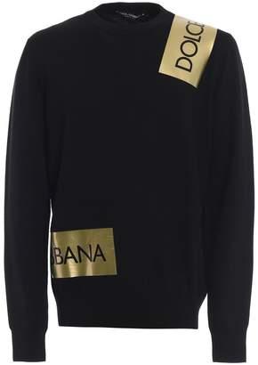 Dolce & Gabbana Logo Band Sweater