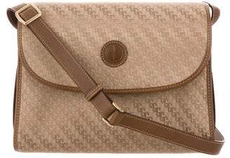 d0882fef099f Pre-Owned at TheRealReal · Gucci Vintage GG Jacquard Crossbody Bag