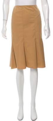 Prada Classic A-Line Skirt w/ Tags Beige Classic A-Line Skirt w/ Tags